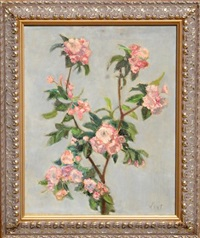 untitled 15 (pink flowers) by adela smith lintelmann