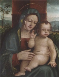 the madonna and child by boccacio boccaccino