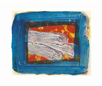 two's company by howard hodgkin