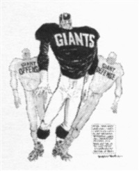 new york giants offense and defense pull themselves together by willard mullin