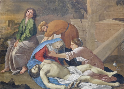 the entombment by nicolas poussin