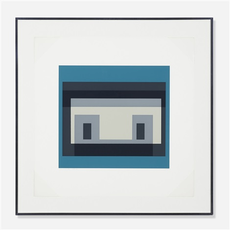 variant iv from the ten variants portfolio by josef albers