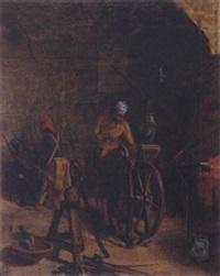 the sword grinder by robrecht jan fabri