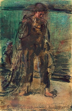 pêcheur by georges rouault