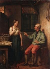the fish seller by jacob akkersdijk