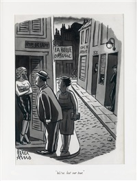 we've lost our tour by peter arno