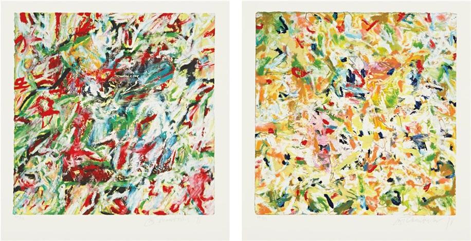 seawater series 2 works by john chamberlain