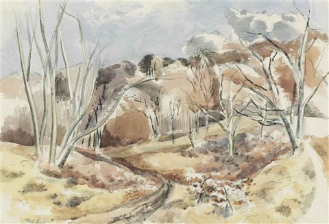 march woods by paul nash