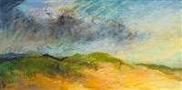 on the beach #1 (triptych) by dennis leon
