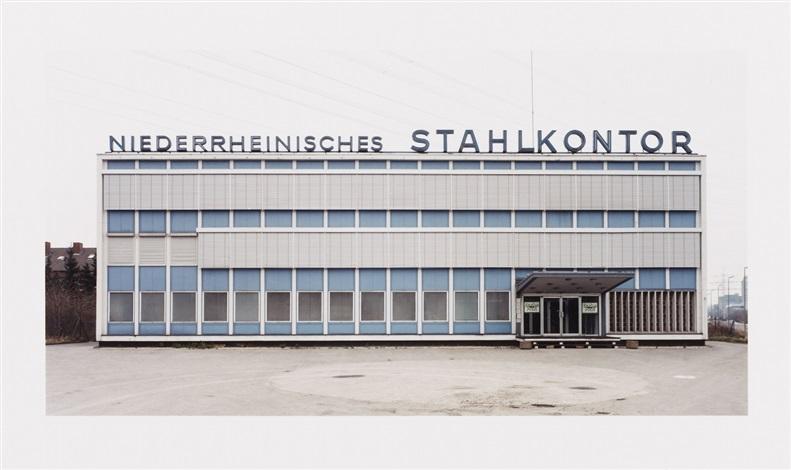 niederrheinisches stahlkontor by thomas ruff
