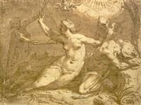 la muerte separando a los amantes by peeter de jode the elder