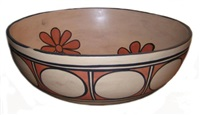 pueblo dough bowl by vidal aguilar