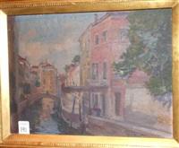 venetian canal by oliver dennett grover