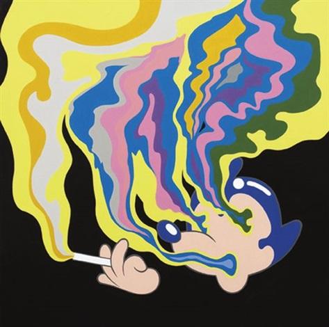 smoking black by lee dongi