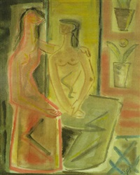 dos figuras by manuel baeza