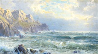 moye point, guernsey, channel islands by william trost richards