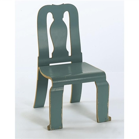 A Prototype Queen Anne Chair By Robert Venturi On Artnet