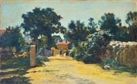 sunny street by robert nadler