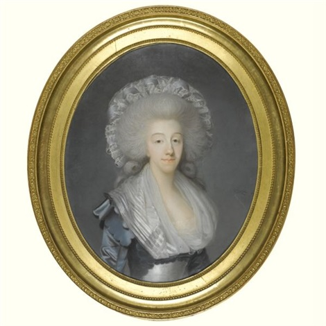portrait of the comtesse dartois by joseph boze