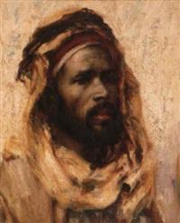 portrait d'homme by georges gasté