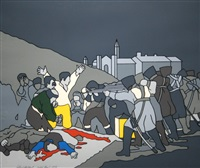 liberty at the barricades by robert ballagh