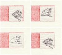 merlots (4 works) by michel lauricella