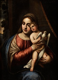 maria mit dem kind by paolo veronese