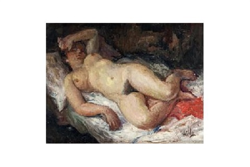 mujer en la cama by waldo aguiar
