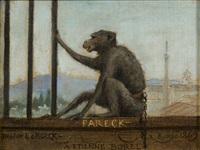 le singe fareck by louis hector leroux