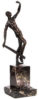 bronzestatuette einer schlanken, männlichen gestalt by anonymous-italian-tuscan (16)