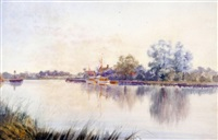 reedham ferry by stephen john batchelder