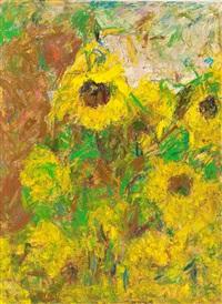 sunflowers by rafael wardi