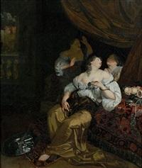 junon et sémélé et la mort de cléopâtre (pair) by c. van ritten