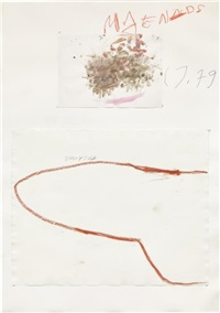 dionysus by cy twombly