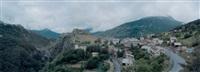 fort du château, briançon by john davies