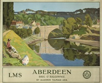 aberdeen (poster) by algernon talmage