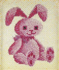 bunny rabbit (from the fluffy friends series) by farhad moshiri