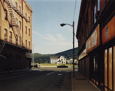holden street, north adams, massachusetts, july 13 by stephen shore