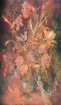 nature morte aux perroquets by natalia varchakova