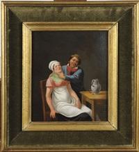 couple dans un intérieur by constantinus-fidelio coene