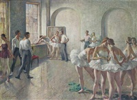 the rehearsal by sir daryl ernest lindsay