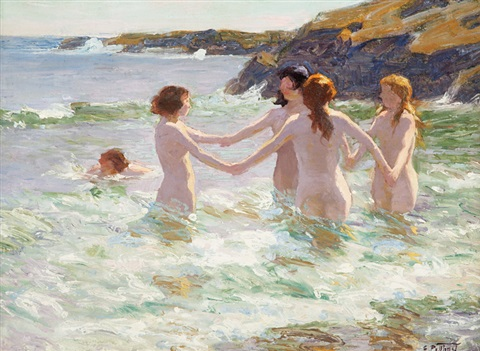 water nymphs by edward henry potthast