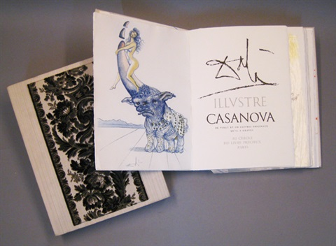 casanova bk w 21 works folio by salvador dalí