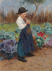 der kleine gärtner by géza peske