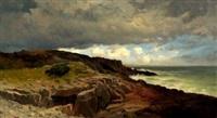 coastal rocks by franklin b. de haven