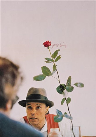 we won't do it without the rose (ohne die rose tun wir's nicht) by joseph beuys
