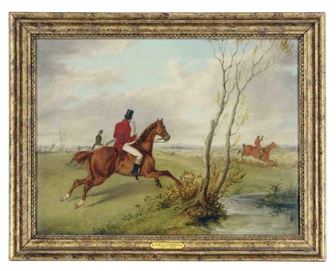 the hunt (+ untitled; 2 works) by george henry laporte