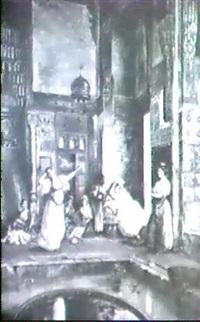 scene de harem by s. joanovitch