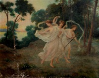 la danse des nymphes by françois lafon