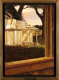 shed at will poston's, hamilton, texas by carl rice embrey